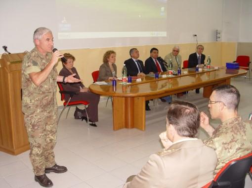 Generale Giannini alla conferenza