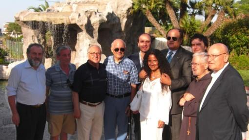 Castel Voilturno bis Agnese e gruppo p Pio 1