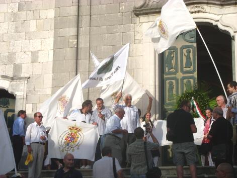 Cerimonia commemorazione eccidio Pontelandolfo