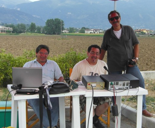 Gino Di Lorenzo, Mario Mancini e Carlo Conti