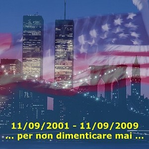 11 Settembre 01 Attentato. Manifesto Per non dimenticare mai!
