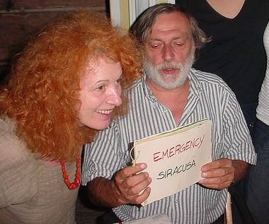 Teresa Sarti e Gino Strada