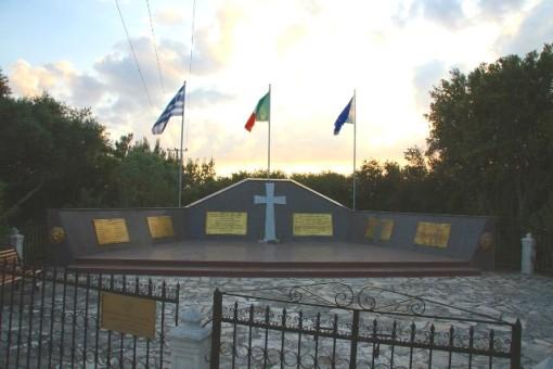 Cefalonia, Monumento dedicato ai caduti italiani della Acqui