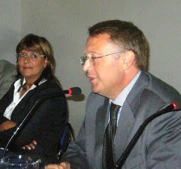 Da sx cons reg CAMMARDELLA e vicepres AGD Campania D