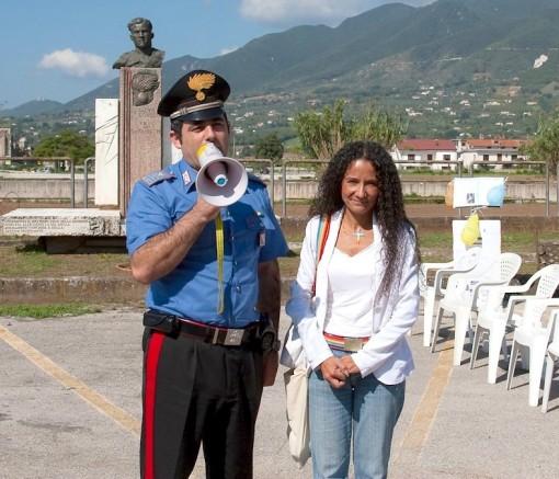 Maresciallo Aceto e Agnese Ginocchio