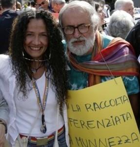 Agnese Ginocchio e Alex Zanotelli