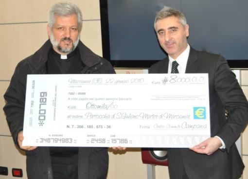 Marcianise ce 8000 euro alla chiesa di s giuliano per for Centro convenienza arredi marcianise marcianise ce