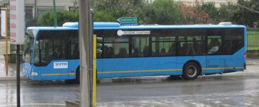 Un autobus ACMS della Linea