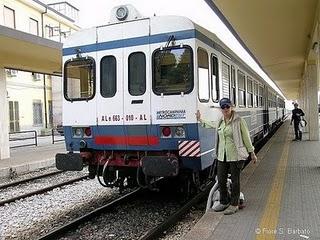 Alife(Ce)- Il Caso: Prof. Giacomo Venditti contro i disservizi dei trasporti pubblici della ferrovia alifana: Viaggi impossibili?