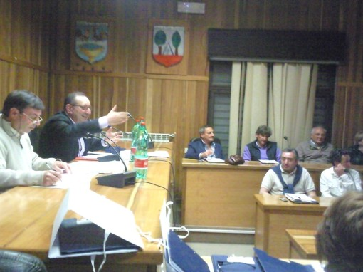 Giuseppe Avecone Comunita Montana 2011
