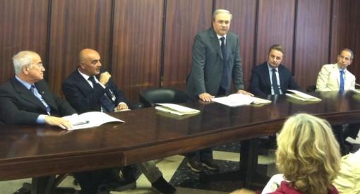 cappella e cappello ricevono delegazione estera per progetto sirius