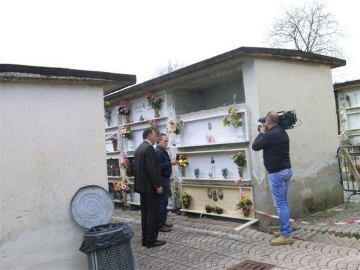 Castelcampagnano(Ce)- Tragedia: Carabiniere si suicida davanti al cimitero