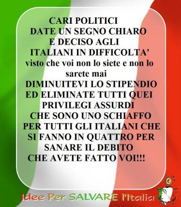 idee salva italia