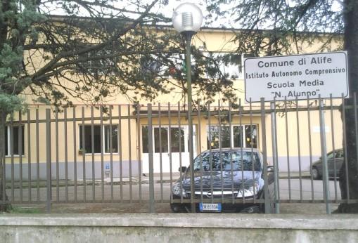 Alife, la scuola Media Niccolò Alunno