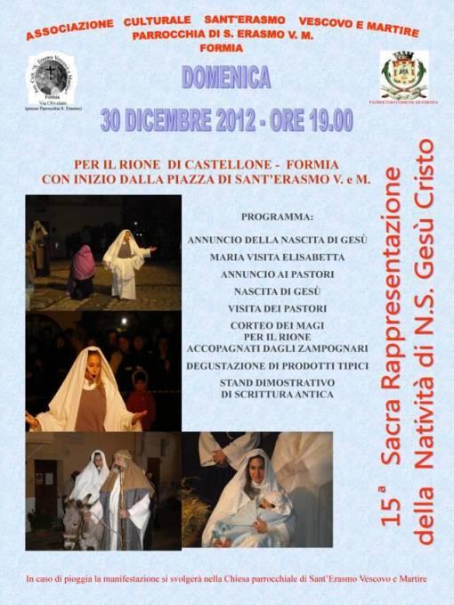 sacra rappresentazione natale2012