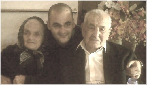 Antonio Caduto compie 103 anni attorniato dalla moglie e dal nipote