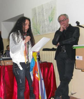 Agnese Ginocchio e Marzo Fusco Isiss Giordano venafro