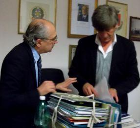 Avecone  Giuseppe e Riccio Sandro segretario