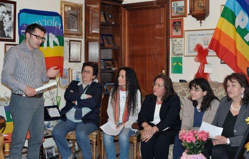 intervento di Mimmo Comitato Fuochi premio Azioni di Pace 2013