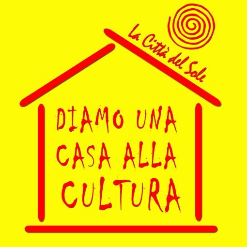 logo campagna casa cultura giallo