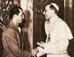 gino bartali e papa pio 12