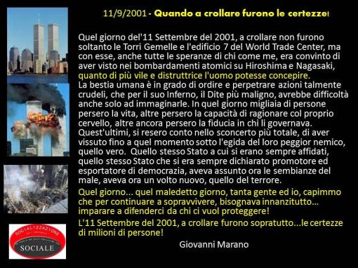 11 settembre inganno globale