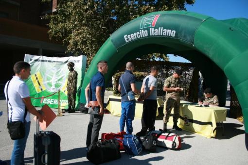 Capua, Accoglienza dei Volon tari del 3° blocco 2013-1