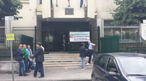 tribunale piedimonte mobilitazione avvocati contro chiusura
