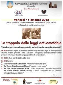 locandina manifestazione 11 ottobre