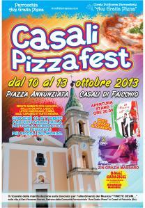Volantino Casali Pizza Fest 2013