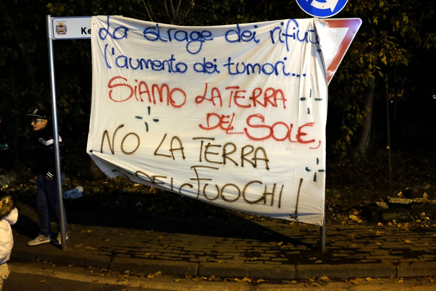 "Top striscioni no biocidio | ""ALTO CASERTANO - MATESINO & d"" BLOG  IS82"