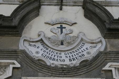 Insegna Convitto Nazionale Giordano Bruno di Maddaloni