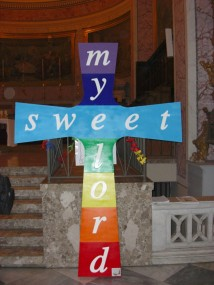 My Sweet Lord nel duomo di Caserta