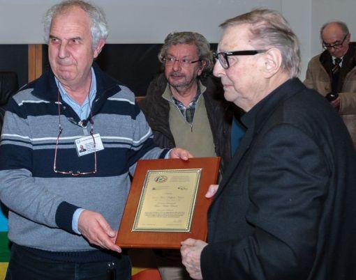 Direttore Università consegna Premio Nogaro