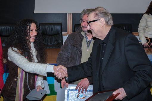 Raffaele Nogaro ringrazia Agnese Ginocchio