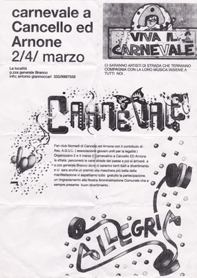 carnevale cancel