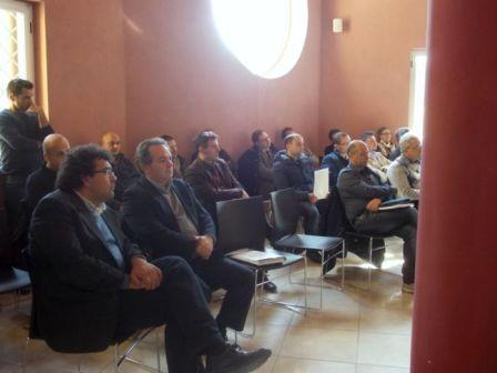 Rappresentanti di associazioni di categoria, imprenditori presenti dal venafrano e da altre realtà meridionali