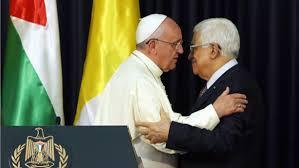 papa frANCESCO PRESIDENTE PALESTINA
