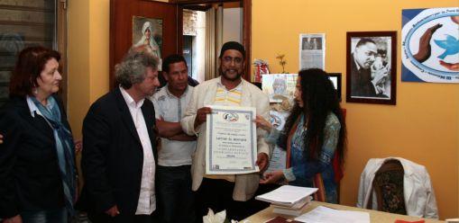 cittadinanza onoraria pace Lattaf moustafa