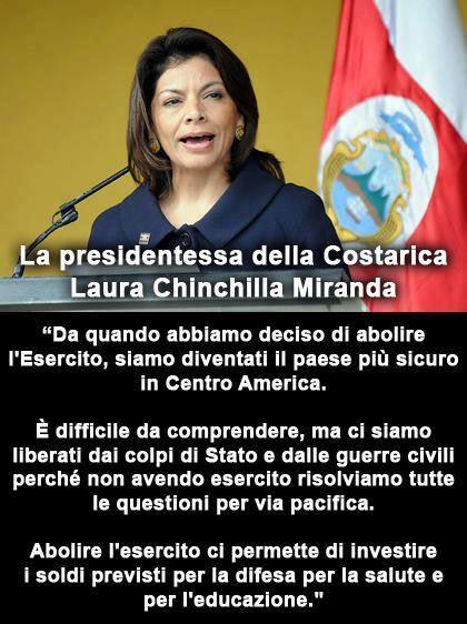 costarica stato di pace
