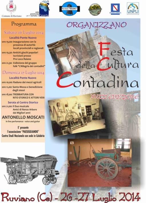 locandina festa cultura contadina