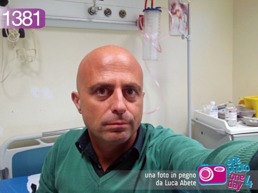 luca abete ferito ospedale