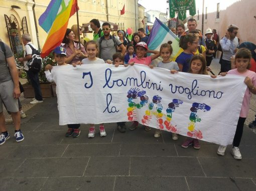 bambini vogliono la pace