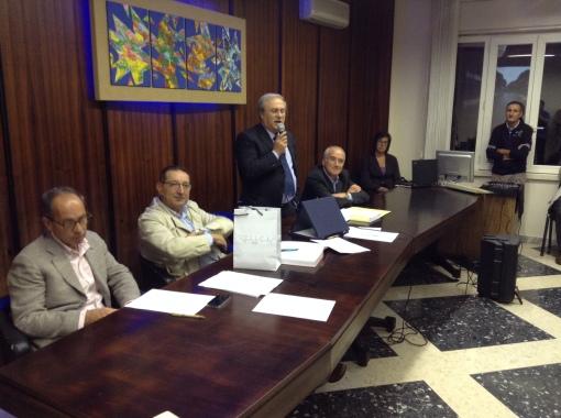 Presidente Cappella durante Consiglio sul consuntivo 2013