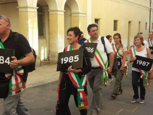 sindaci marcia pace assisi