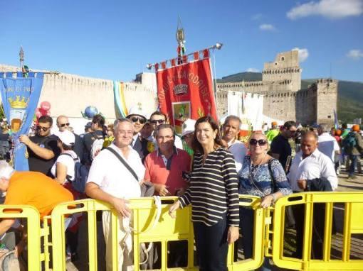 Capodrise Marcia Pace Perugia Assisi