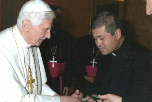 don ovidio e papa ratzinger