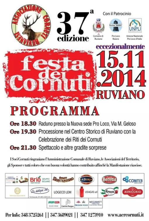 festa cornuti ruviano  15 novembre 2014