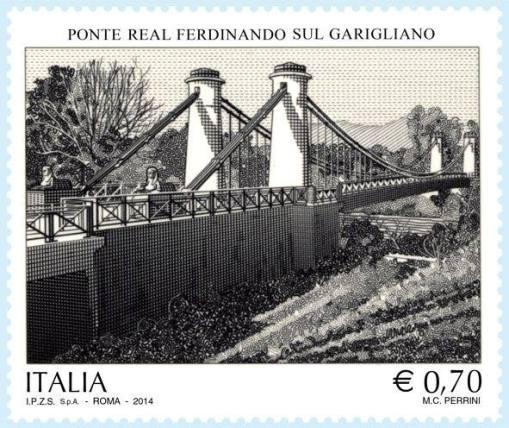 francobolo ponte borbonico