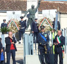 GRAZ Autorità alla cerimonia del 4 NOV 2006